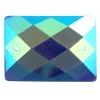Opal Bright Sew-on Stone 10pcs Rectangle 18x25mm Royal Blue A
